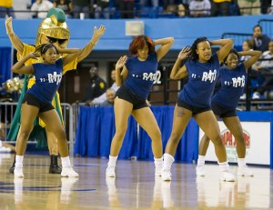 These are actually Norfolk State Cheerleaders.